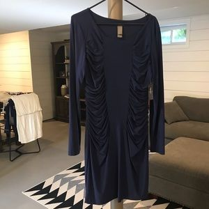 Cute ruched front dress!